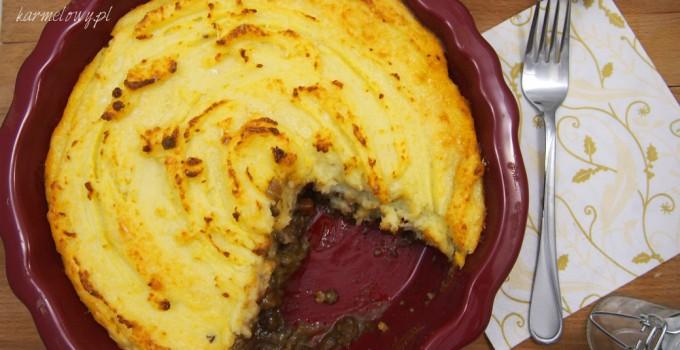 Shepherd's pie z warzywami w occie Gordona Ramsaya