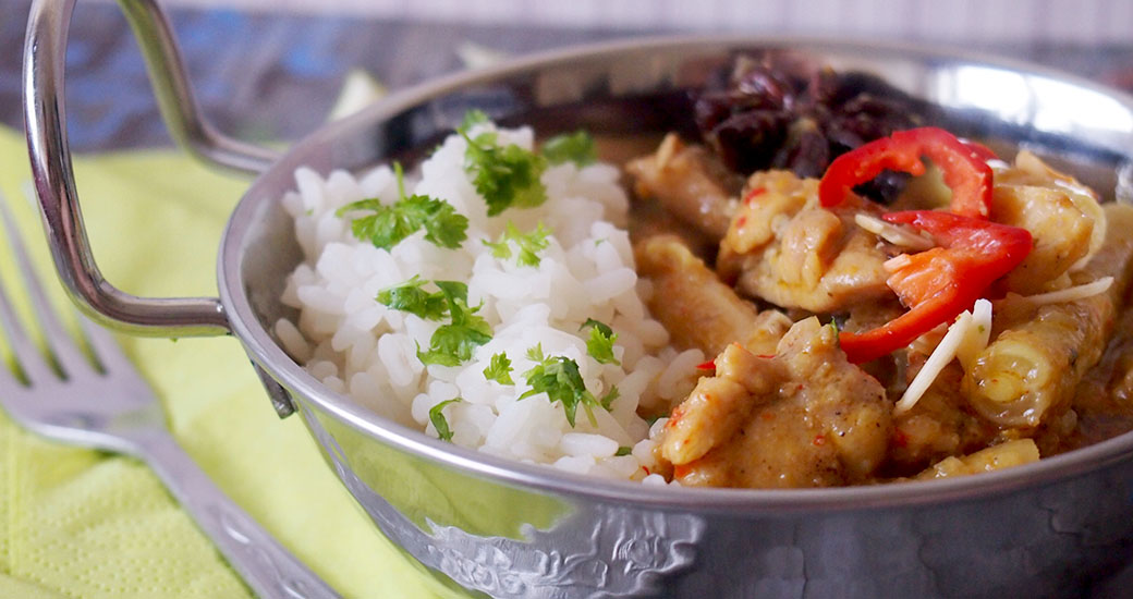 Curry z kurczakiem po malezyjsku/Malaysian chicken curry