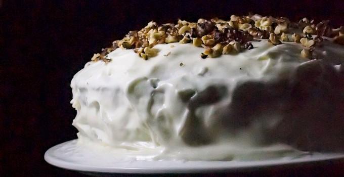 1 urodziny bloga i tort marchewkowy z kardamonem/ Carrot cake with cardamom