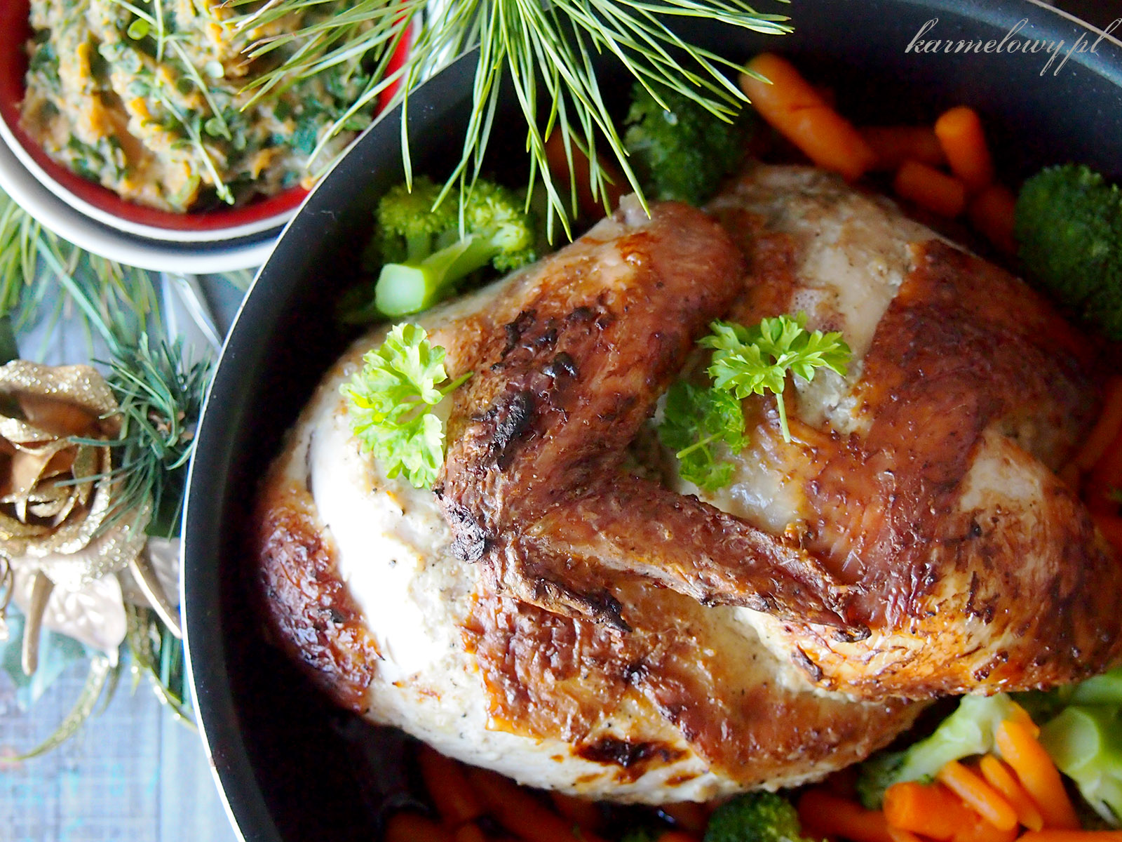 ... /Roasted chicken with cardamom and yogurt - Karmelowy blog kulinarny