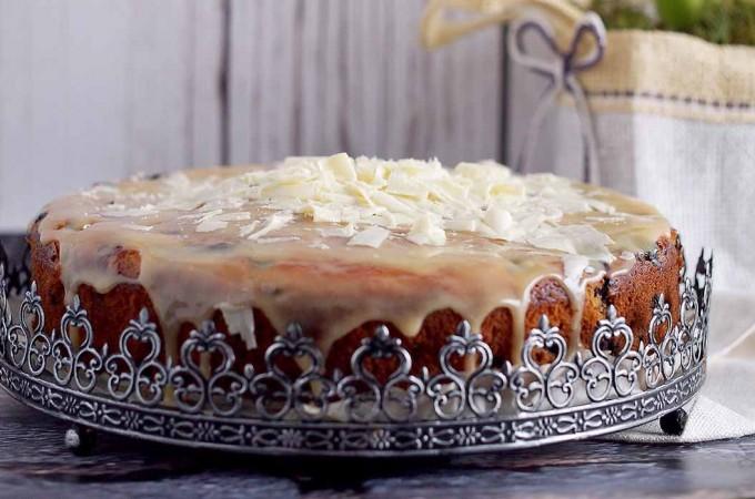 Cytrynowo-jagodowe ciasto jogurtowe / Lemon blueberry yogurt cake