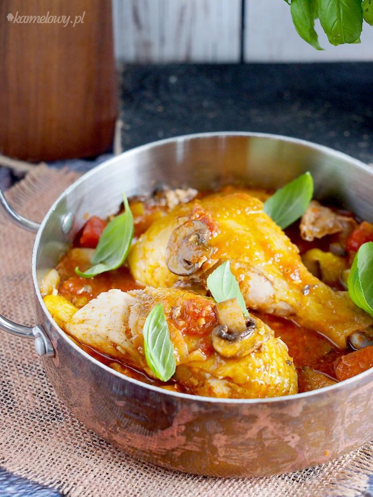 Kurczak z pieczonymi warzywami / Chicken with roasted vegetables