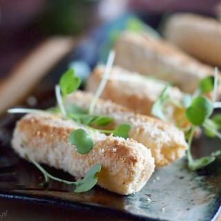 Skorzonera zapiekana w migdałach / Black salsify baked with almonds