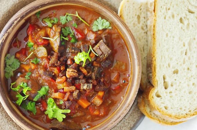 Portugalski gulasz z żołądków / Portugese gizzard stew
