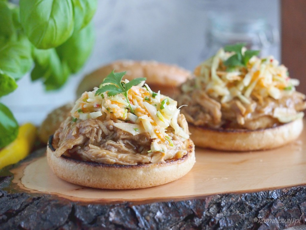 Pulled chicken w stylu azjatyckim / Asian style pulled chicken