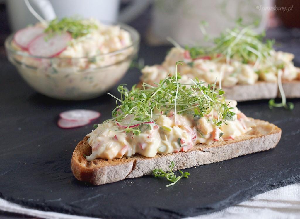 Pyszna sałatka jajeczna / Egg salad