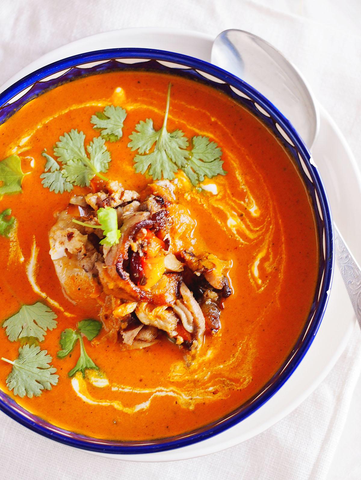 Zupa tikka masala / Tikka masala soupKarmelowy blog kulinarny
