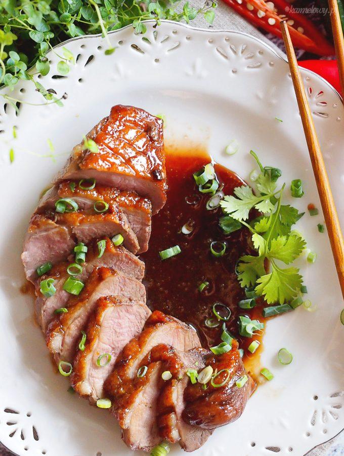 Piersi kacze w azjatyckiej glazurze / Asian style glazed duck breasts