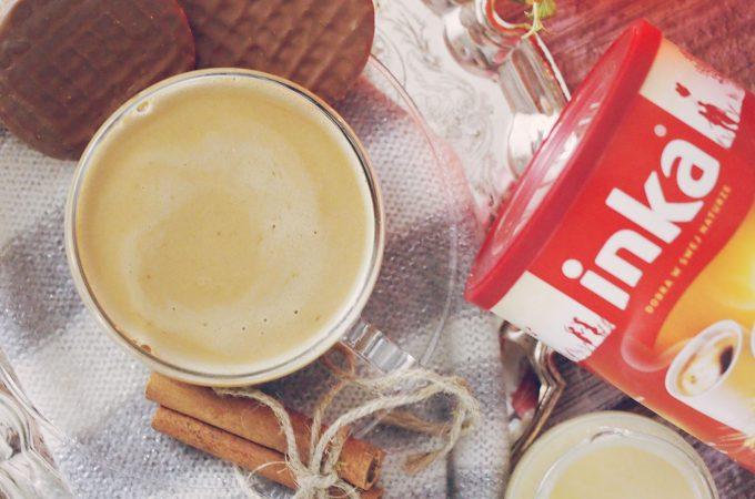 Inka z korzenną śmietanką dyniową / Chicory coffee with spiced pumpkin cream