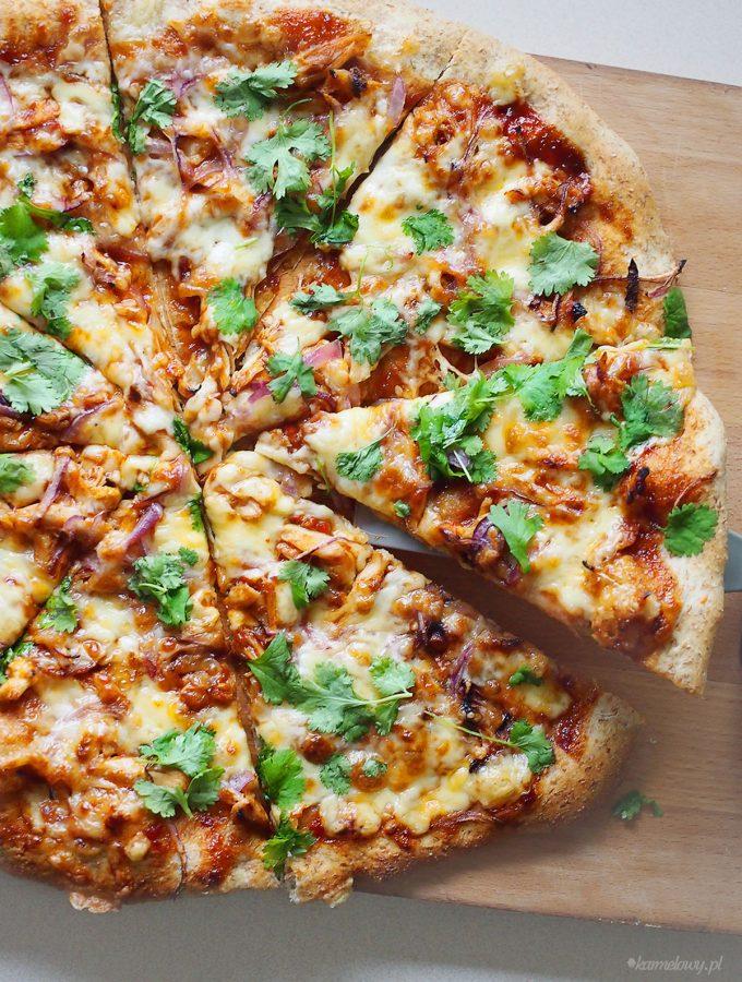 Pizza z kurczakiem barbecue / Barbecue chicken pizza