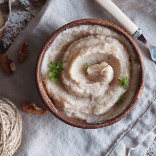 Puree z topinambura i jabłka / Jerusalem artichoke and apple puree