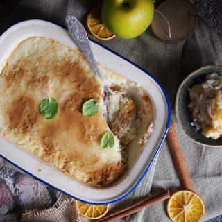 Ryż z jabłkami i cynamonem / Apple Cinnamon Rice Pudding