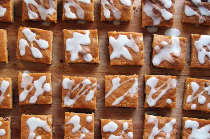 Piernikowe ciasteczka z białą czekoladą wg Marthy Stewart