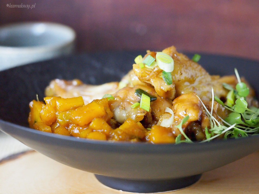 Skrzydełka miodowo-imbirowe / Honey ginger glazed chicken wings