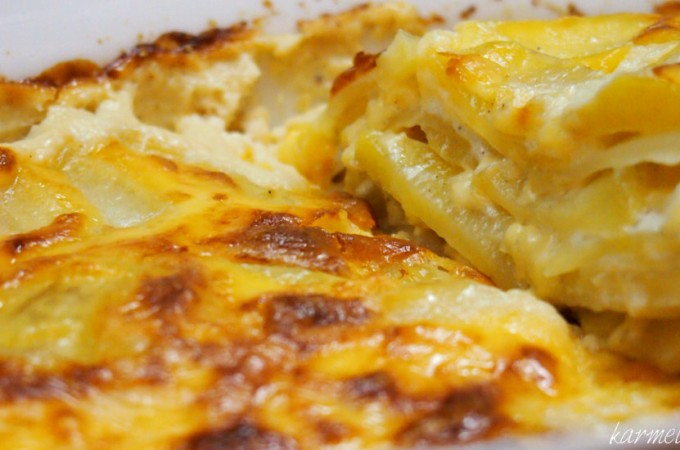 Ramsayowa ziemniaczano-serowa zapiekanka obiadowa