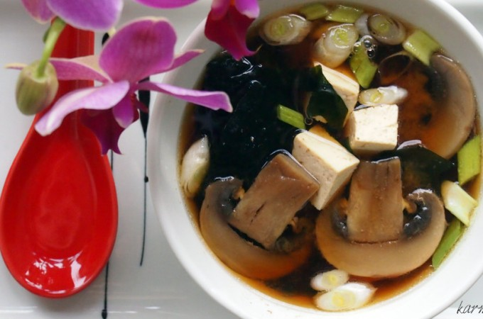 Doskonała zupa miso