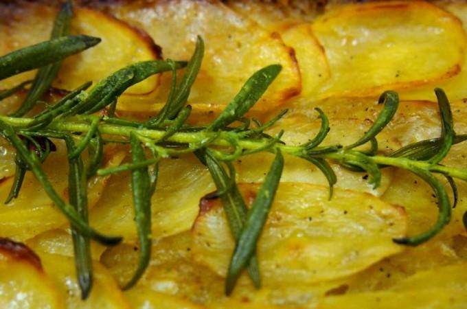 Boulangère z ziemniaków Gordona Ramsaya