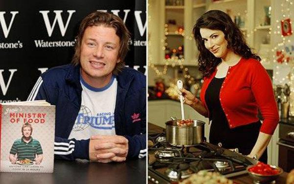 Dania Nigelli Lawson i Jamiego Olivera mniej zdrowe od gotowców z supermarketu?