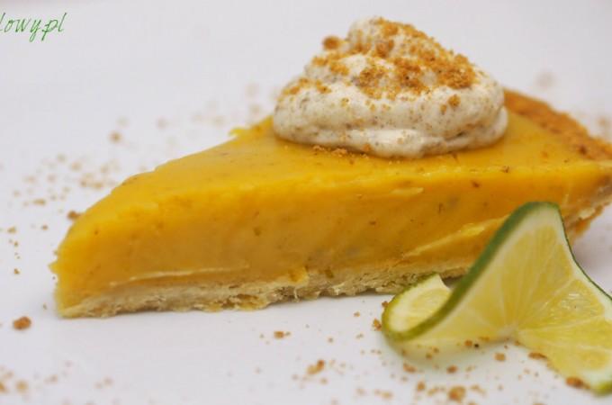 Mocno limonkowa tarta z piernikową bitą śmietaną Jamiego Olivera