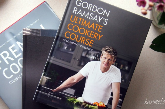 "Ramsay's ""Ultimate cookery course"",""Heston Blumenthal at home"" i ""French cooking""-mam i ja!"