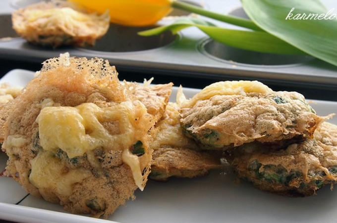 Mini frittaty śniadaniowe z samych białek
