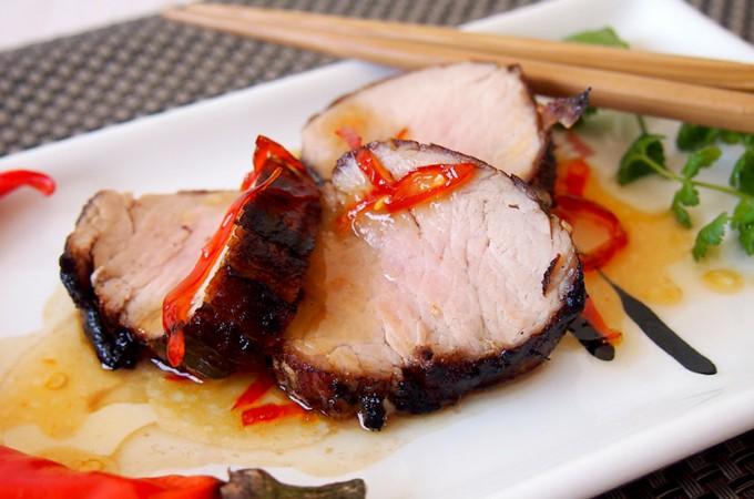 Grillowana polędwiczka z wietnamskim sosem karmelowym Billa Grangera