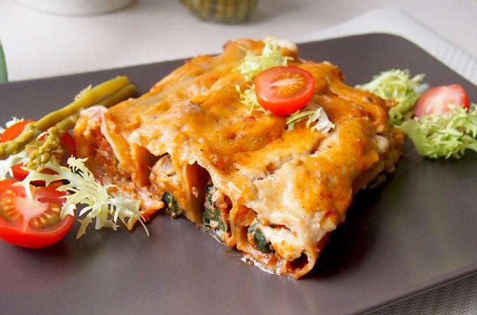 Cannelloni z ricottą, szpinakiem i mięsem z najnowszego Kukbuka