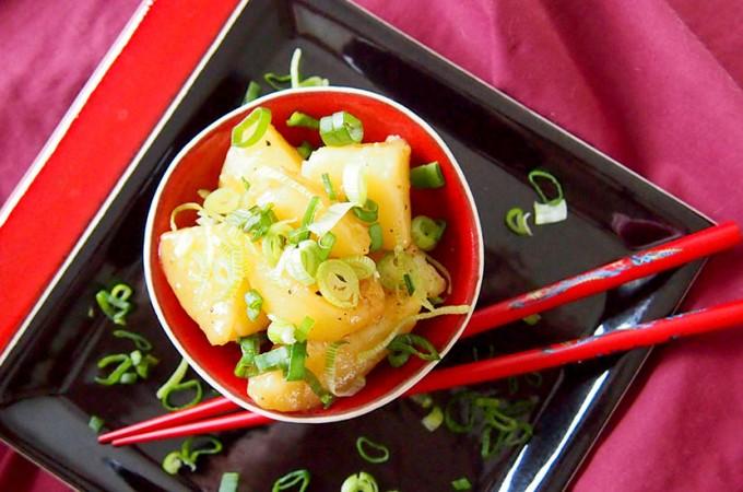 Azjatyckie ziemniaki w glazurze z masła sojowego Billa Grangera