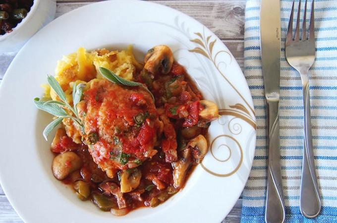 Kurczak Cacciatore/Chicken Cacciatore