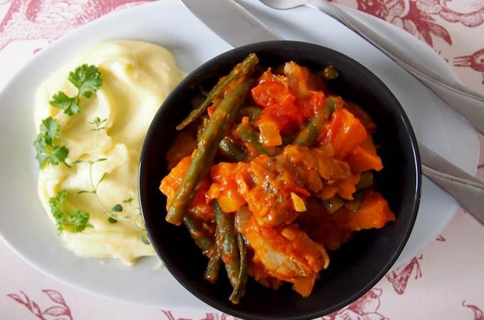 Potrawka z kurczakiem i dynią / Chicken pumpkin stew