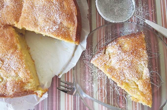 Francuskie ciasto z gruszkami / French pear cake