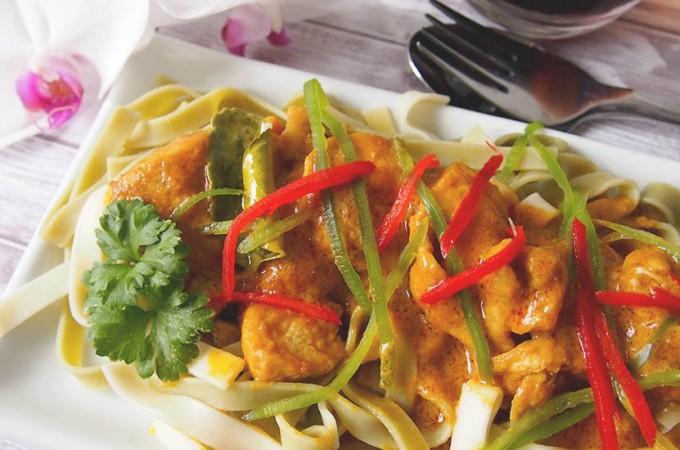 Malezyjskie curry z kurczakiem / Malaysian chicken curry