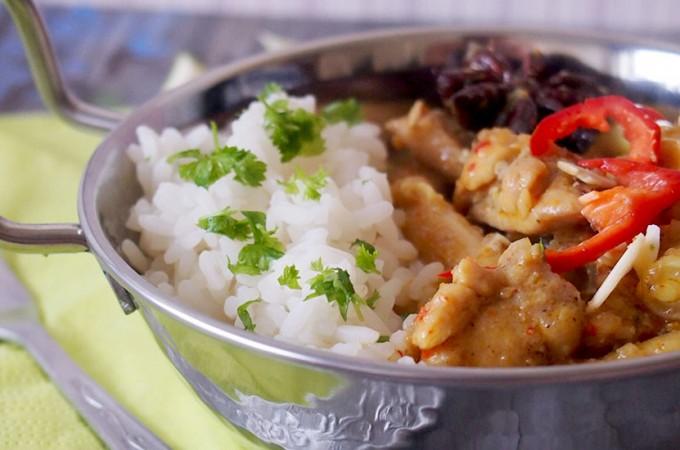 Curry z kurczakiem po malezyjsku / Malaysian chicken curry
