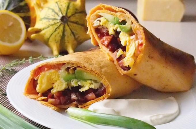 Burrito śniadaniowe / Breakfast burritos