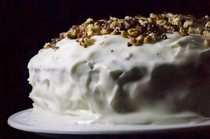1 urodziny bloga i tort marchewkowy z kardamonem / Carrot cake with cardamom