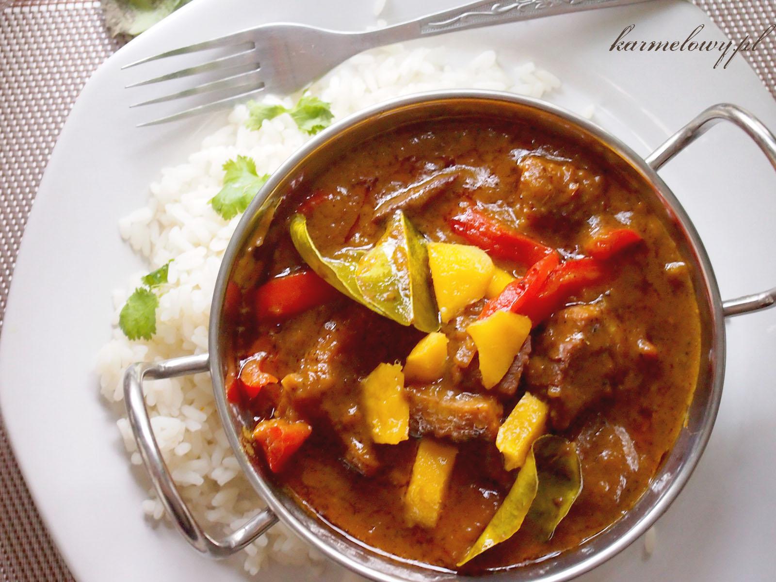 Latwe Curry Z Mango I Kurczakiem Easy Mango And Chicken Curry