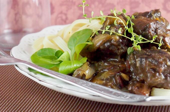 Wołowina po burgundzku / Beef bourguignon
