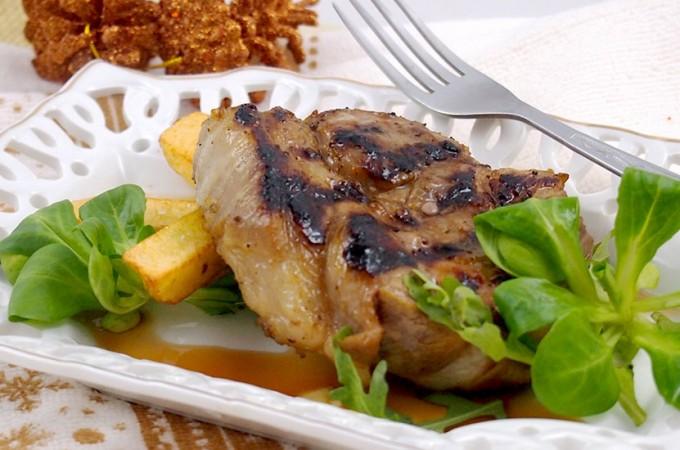 Grillowana karkówka w stylu azjatyckim / Grilled pork neck chops oriental style