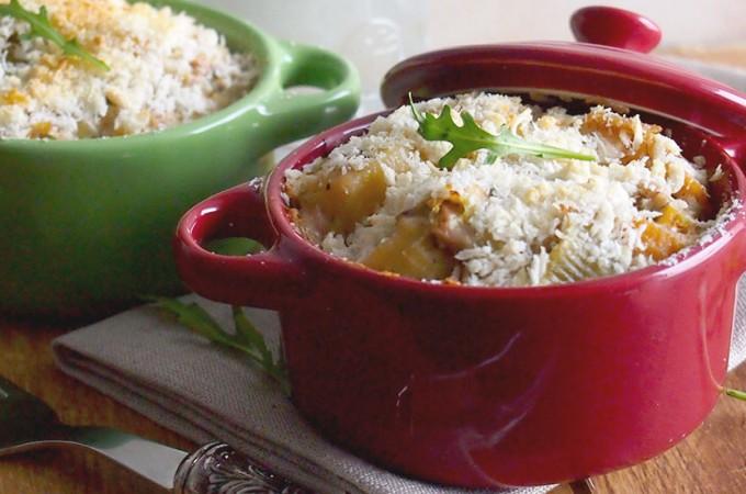 Zapiekanka makaronowa z tuńczykiem / Tuna noodle casserole