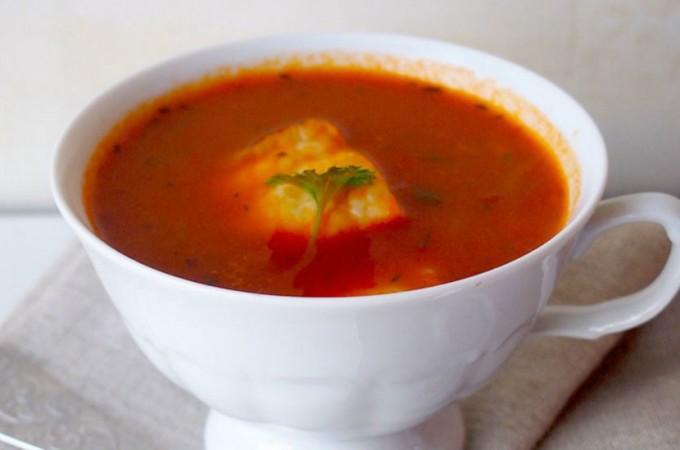 Włoska zupa rybna / Italian fish soup