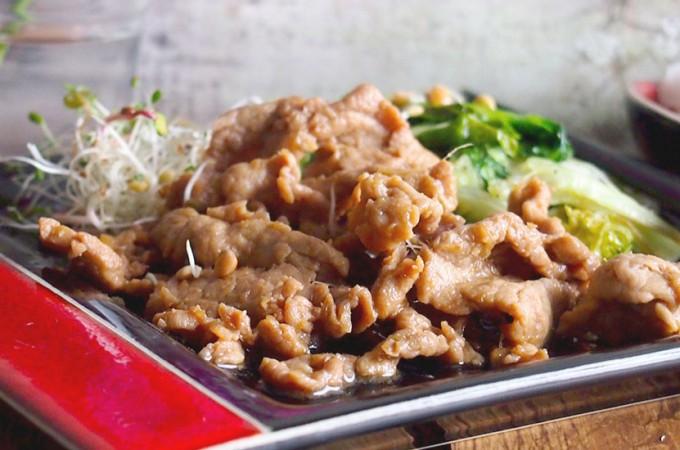 Bardzo imbirowa wieprzowina / Ginger pork