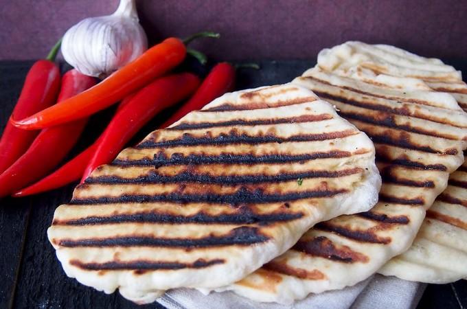 Łatwy chlebek naan / Easy naan
