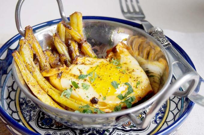 Fasolka szparagowa z jajkiem w stylu indyjskim / Indian style green beans with eggs
