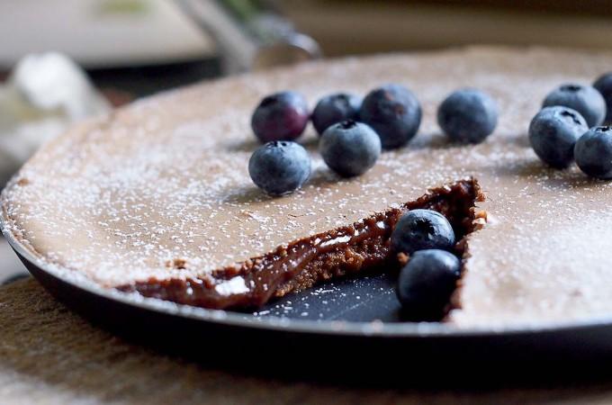 Test ekologicznej patelni do naleśników firmy Ballarini i przepis na fondanta z nutellą /Skillet chocolate fondant with nutella