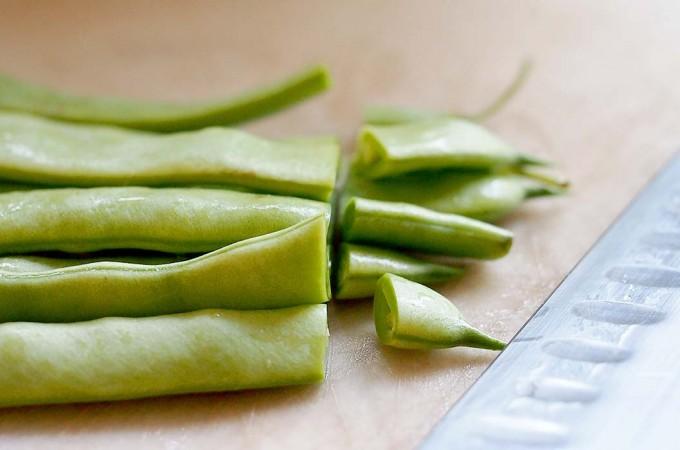 Jak zamrozić fasolkę szparagową