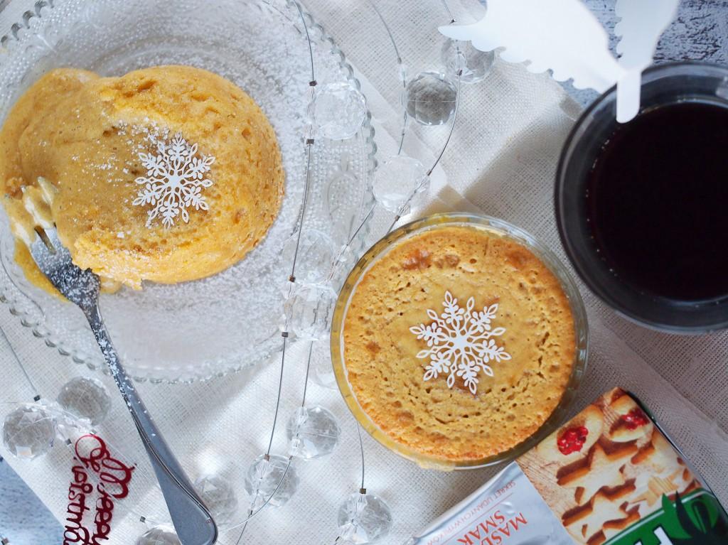 Piernikowe ciastko z plynnym wnetrzem / Gingerbread lava cake