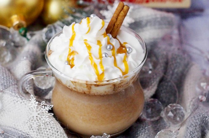 Piernikowa gorąca czekolada / Gingerbread hot chocolate