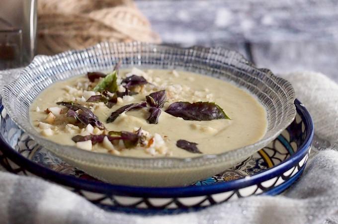 Zupa brokułowa z maslem orzechowym / Broccoli and peanut butter soup