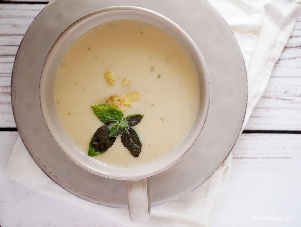 zupa ze szparagów i kalafiora