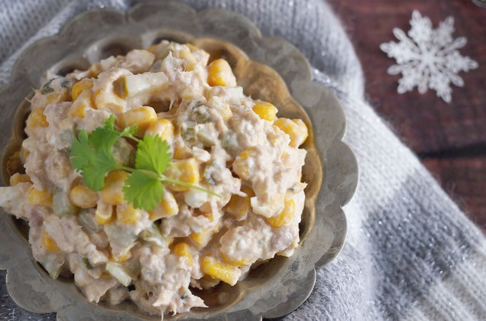 Szybka sałatka z tuńczykiem / Easy tuna salad
